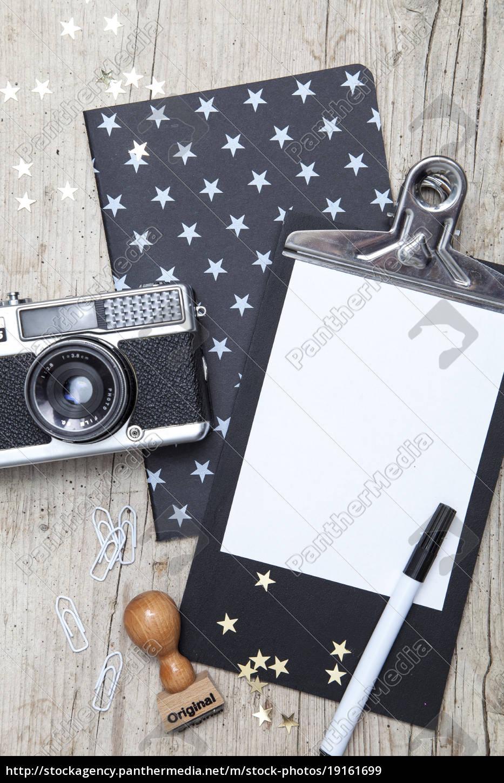 creative, christmas, card, with, an, old - 19161699