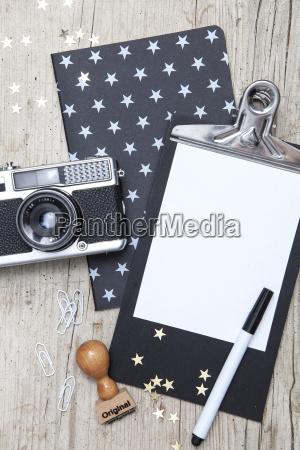 creative, christmas, card, with, an, old - 19161713