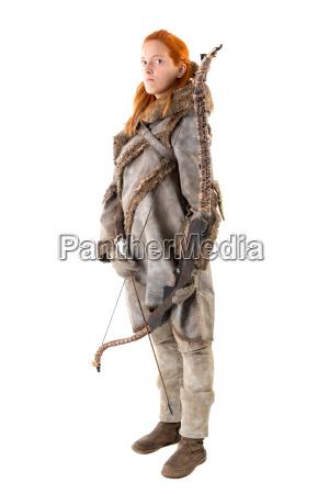 girl, archer - 19161015