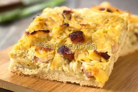 german zwiebelkuchen onion cake