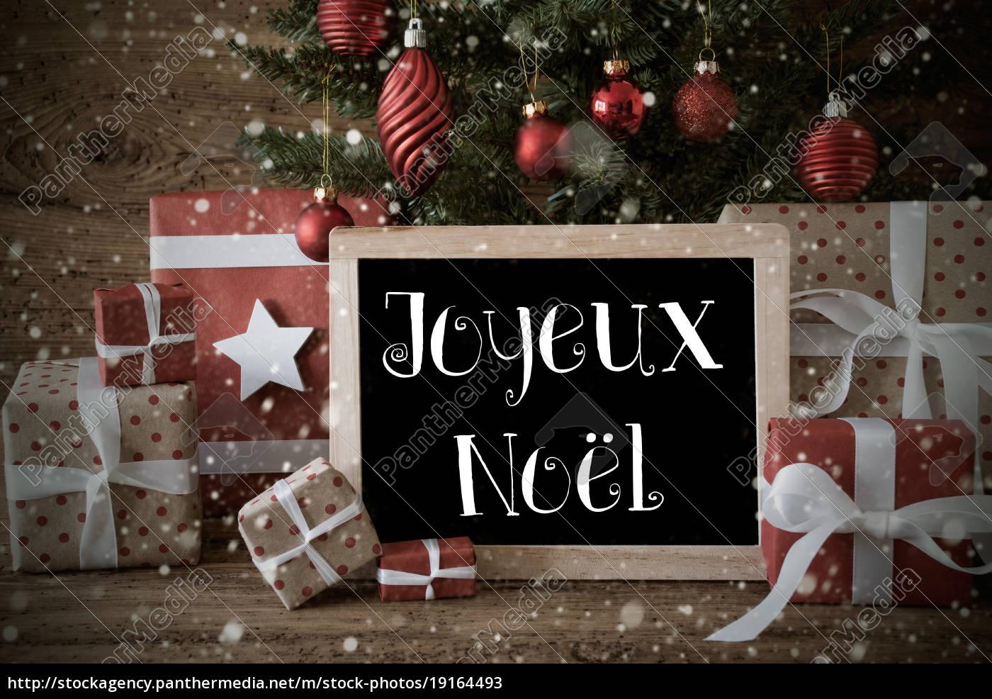 nostalgic, tree, , joyeux, noel, means, merry - 19164493