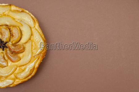 whole tarte tatin apple pear tart