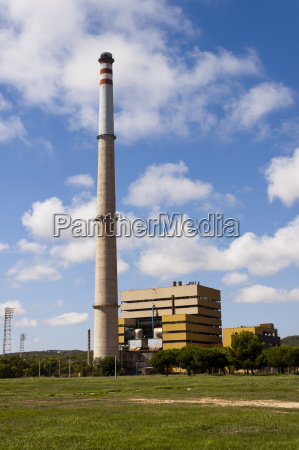 thermal power station of foix in