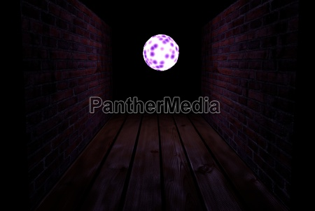 end of dark tunnel magic light