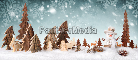wood, decoration, background, with, snow, design, ideal, for - 19173745