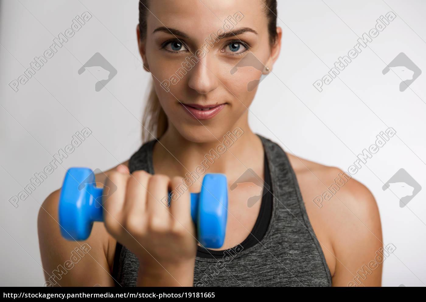 Stock Photo 19181665 Beautiful Fitness Woman