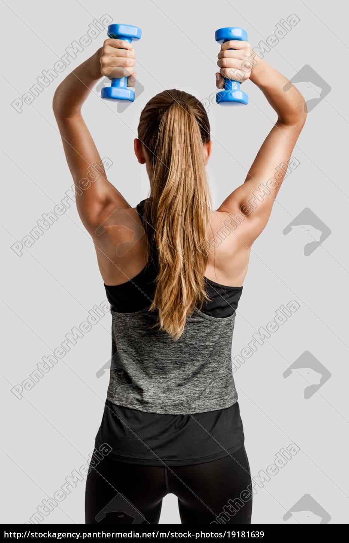 beautiful, fitness, woman - 19181639