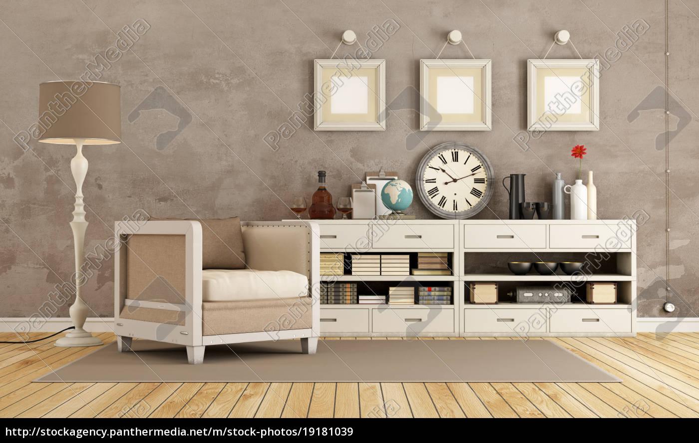 brown, vintage, room - 19181039