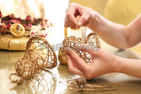 manufacture of christmas toys wooden bells
