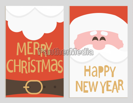 santas message banners