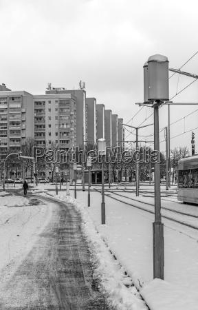 dresden city rink in winter