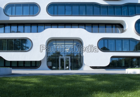 modern architecture modern office building in