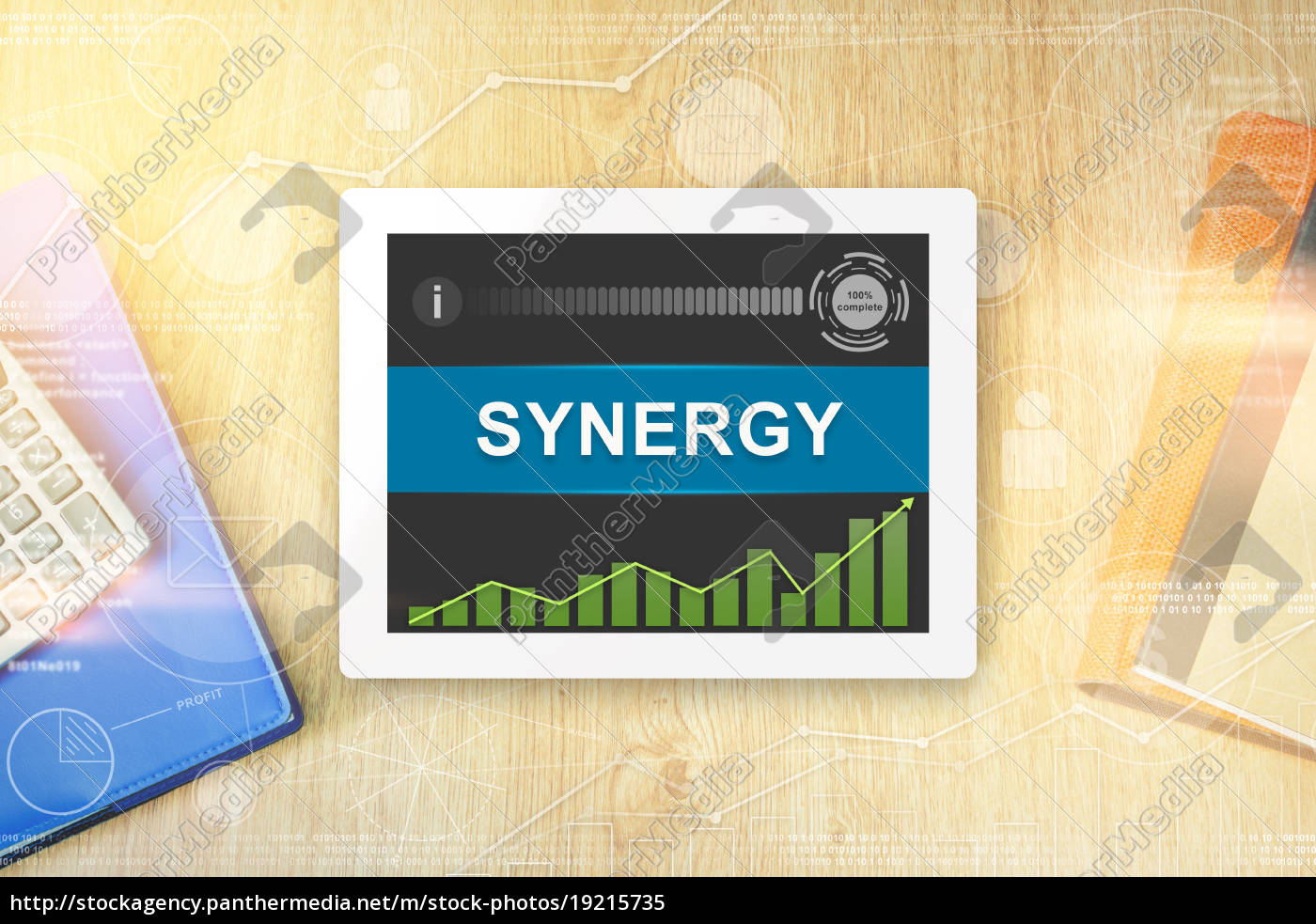 synergy, word, on, tablet - 19215735