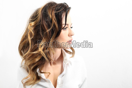 strong healthy hair
