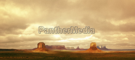 scenic view of monument valley arizona