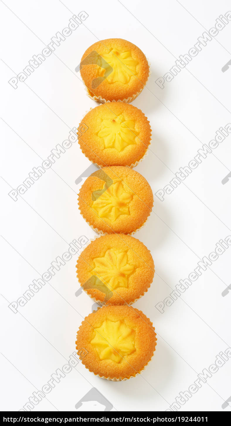 pudding, filled, lemon, cupcakes - 19244011