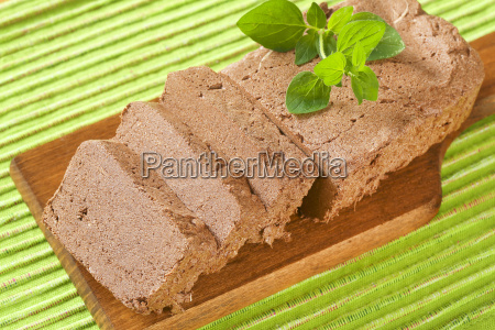 sliced, chocolate, halva - 19244113