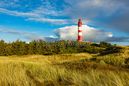 lighthouse in wittduen on amrum