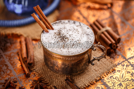 chai, latte, spiced, black, tea - 19250807