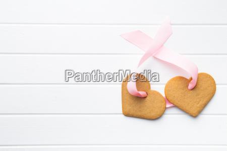 gingerbread, shape, heart. - 19252531
