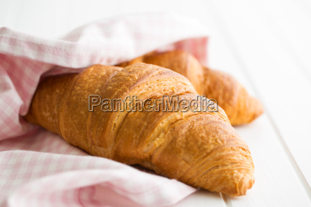 tasty, buttery, croissant. - 19252505