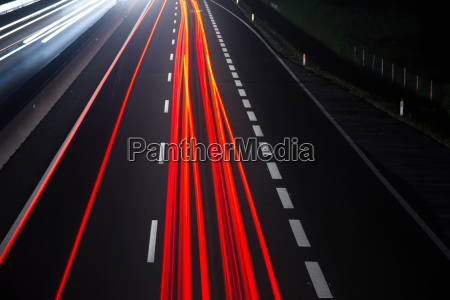 car traffic on a highway at