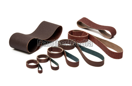 industrial sanding belts sand papers in