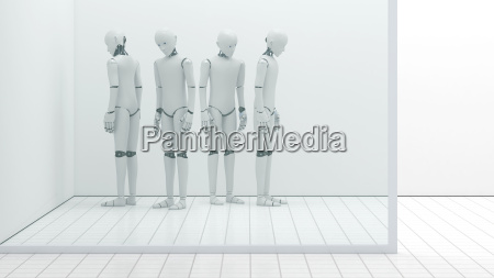 robots out of order storeroom 3d