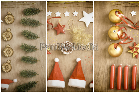 christmas decoration knolling
