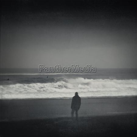personas gente hombre horizonte playa la