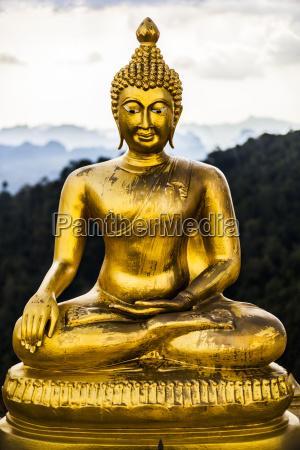 thailand krabi golden buddha