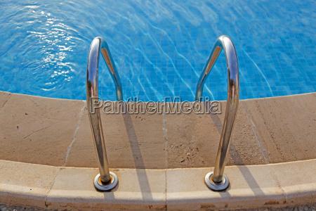 swimming pool edge
