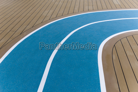 running track on deck of a