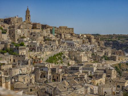 italy basilicata matera townscape