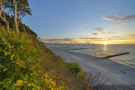 germany nienhagen baltic sea gespensterwald beach