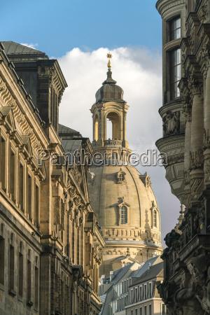 germany saxony dresden dresden frauenkirche