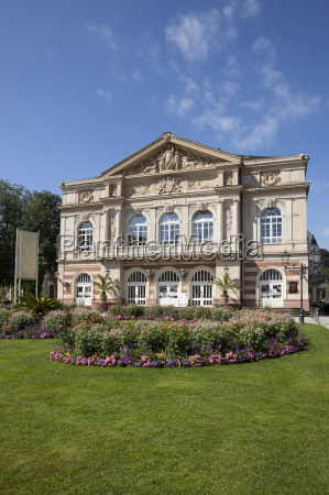 germany baden baden theatre