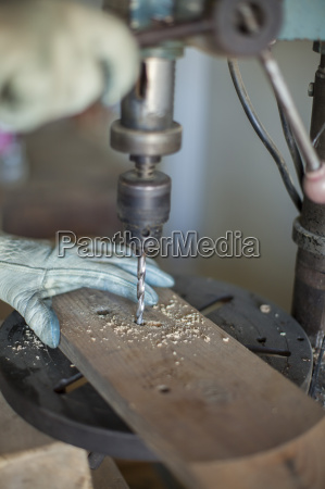 cooper drilling wood