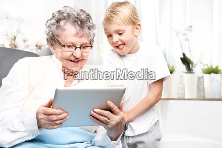 a visit to a grandmother grandmother
