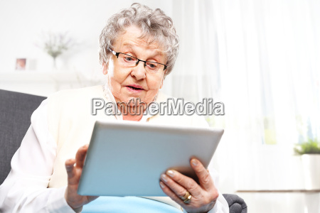 grandma and the computer an elderly