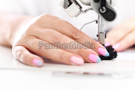 the production plant sewing production of