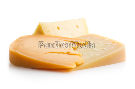 different kinds of hard cheeses