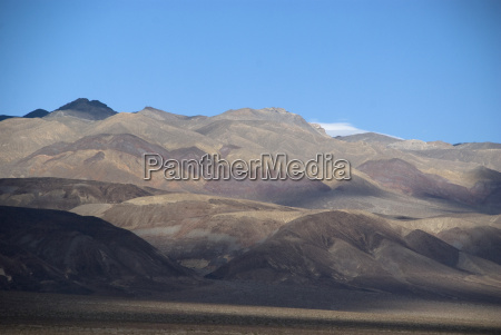 desert landscape in death valley national
