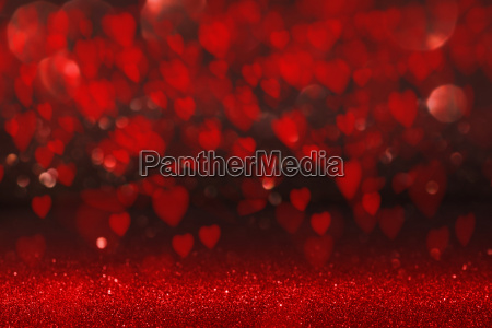 background with red heart for valentines