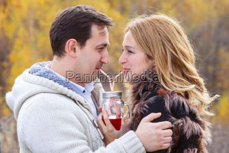 loving young couple