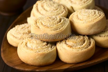 sweet coconut rolls