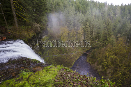 south falls as seen from the