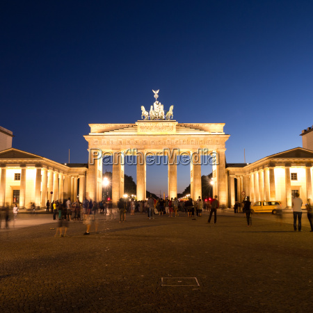 brandenburger tor and pariser platz