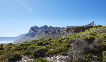 modern luxury home showcase exterior under
