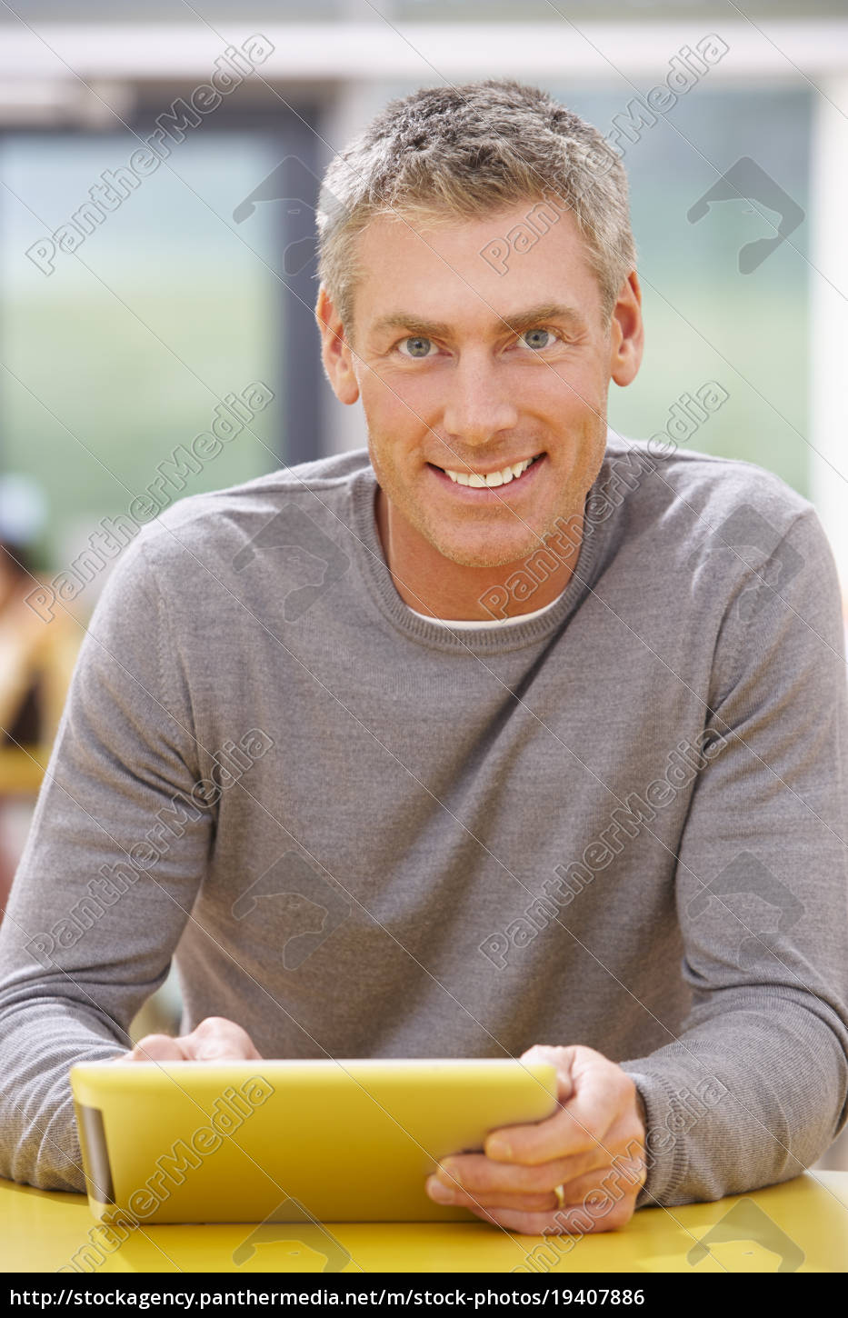 mature, student, studying, in, classroom, with - 19407886